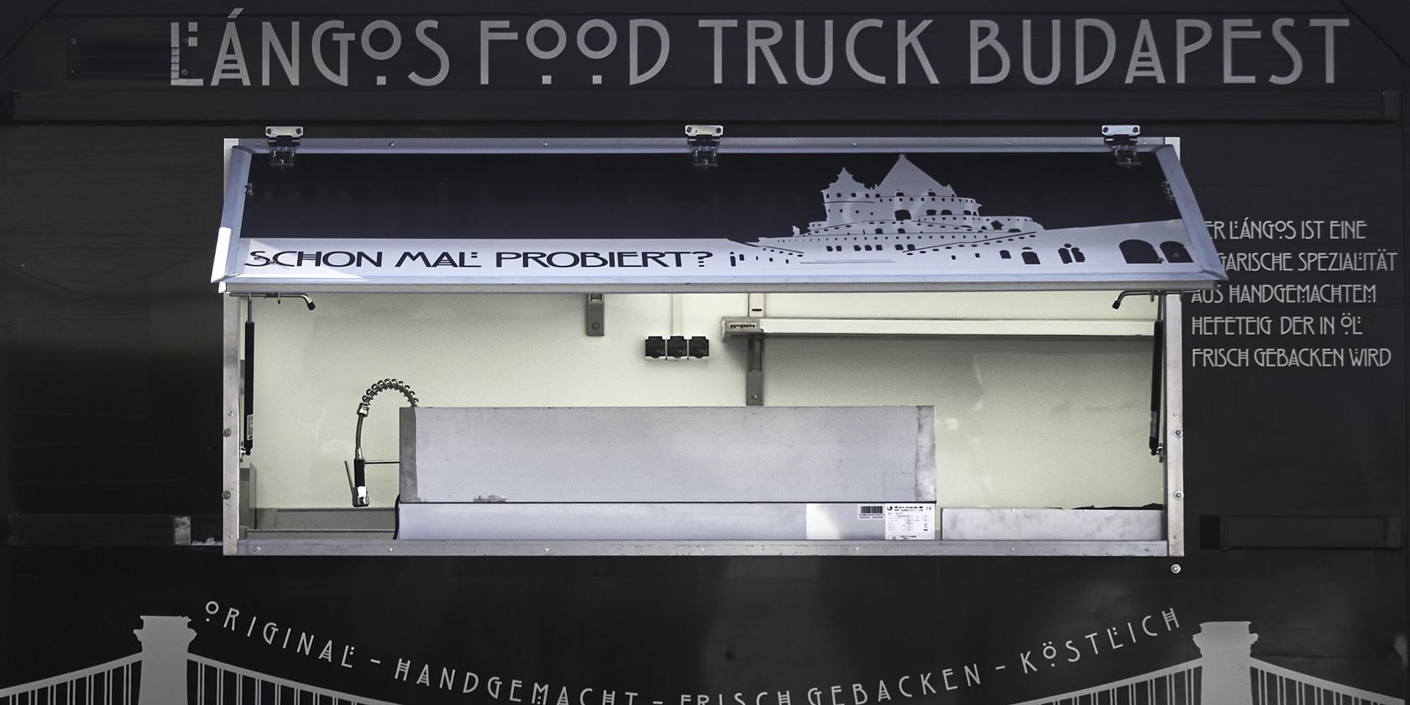 Food truck ajtó